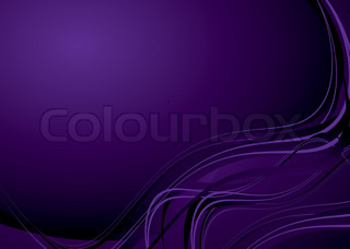Mauve purple background with flowing lines and copy space