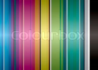 Illustrated rainbow background that would make an ideal desktop