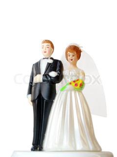 Billede af 'bryllupskage, ægteskab, bryllup kage'