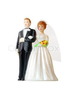 Billede af 'bryllupskage, brudgom, legetøj'