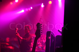 Image of 'rock, stage, music'