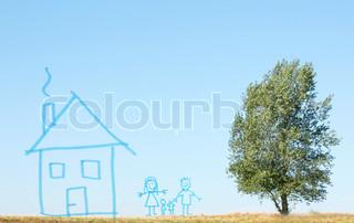 Billede af 'blå, mor, børn'