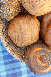 Billede af 'brød, ruller, morgenmad'