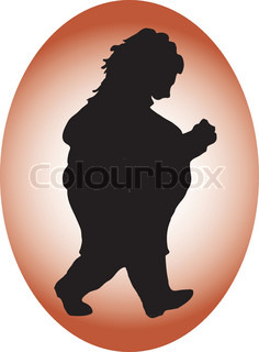 Vector of 'fat, women, people'