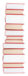 Huge books in a stack