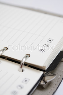 Agenda | Stock Photo | Colourbox