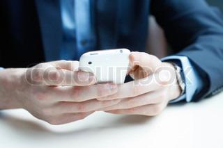 Billede af 'iphone, smartphone, sms'
