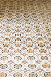 Old Traditional Maltese Floor Tiles Found In A Maltese