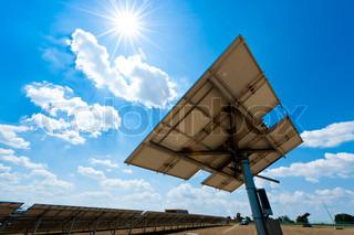 Billede af 'solenergi, plante, celle'