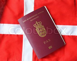 Billede af 'statsborgerskab, union, danske flag'