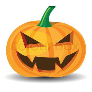Vektor af 'halloween, skræmmende, smilede'