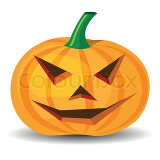 Vektor af 'halloween, clipart, smilede'