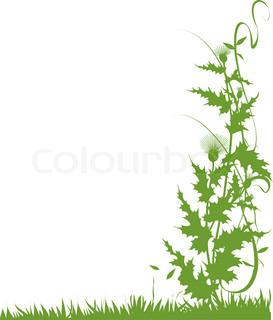 Vektor af 'baggrund, baggrunde, botanisk'