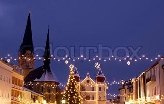 Bild von 'weihnachten, Weihnachten, landschaftlich'