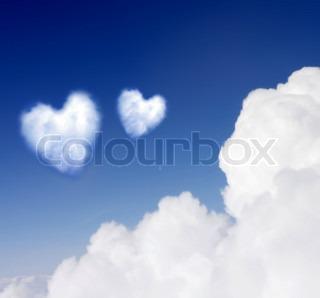 Heartshaped cloud