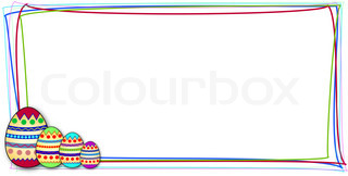 clipart rahmen geburtstag stock vektor colourbox. Black Bedroom Furniture Sets. Home Design Ideas
