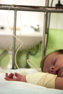 Image of 'hospital, bed, babies'