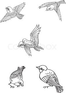 Vektor af 'clipart, gratis, flyvende'