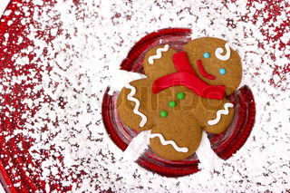 Gingerbread Snow Angel