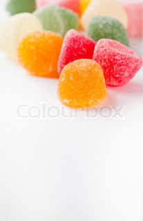 Colorful soft candy