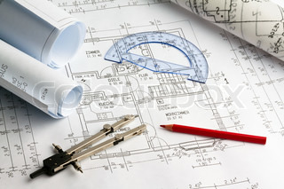 Bild von 'Planung, Bauzeichnungen, Neubau'