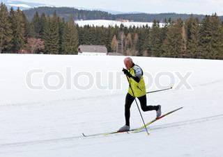 Bild von 'Langlauf, Ski, Ãœbungen'