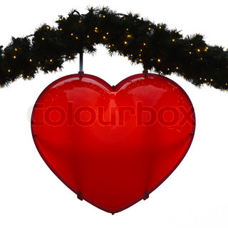 Christmas decoration, heart