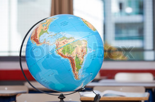 School Earth Globe