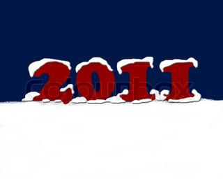 Vektor af 'nytår, vintermånederne, Joy'
