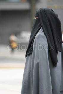 Hijab Covered Woman