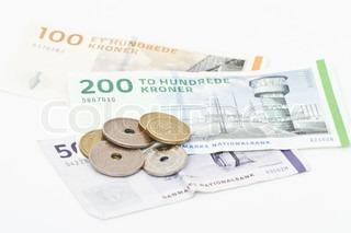 Billede af 'kontanter, valuta, danske'