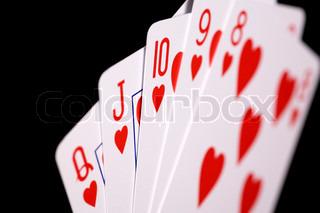 schwarze dame kartenspiel