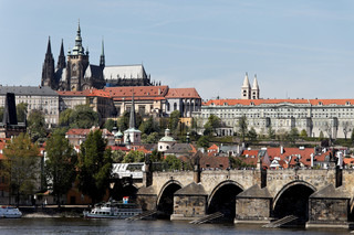 Prague, Charles Bridge, Prague Castle Prague Castle and Vltava