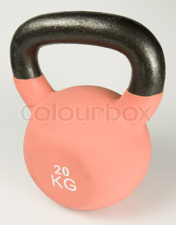 Image of 'kettlebell, kettle bell, object'