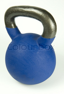 Image of 'kettle-bell, bell, kettle'