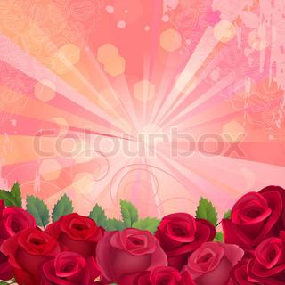 Vektor af 'rødt, plant, plante'
