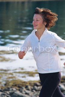Image of 'running, woman, jogging'