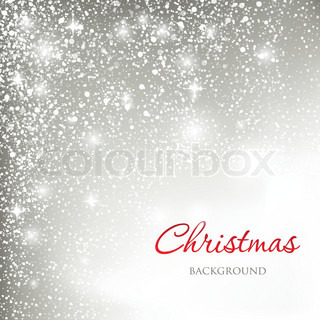 Holiday greeting card with abstract christmas snowflakes and place for our text