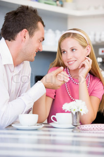 Image of 'cafe, romantic, women'