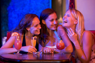 Image of 'girl's night out, alcohol, fun'