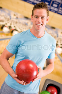 Image of 'bowler, young adult, enjoyment'