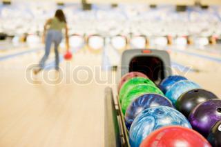 Image of 'bowling, ten pin bowling, image'