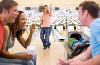 Image of 'bowling, fun, ten pin bowling'