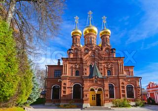 Chernigovsky skete in Sergiev Posad - Russia