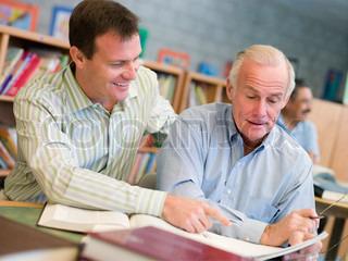 Bild von 'Bildung, Senior, Lernen'