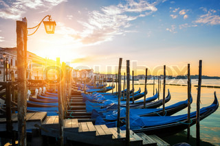 Sunset over the Gran Canal