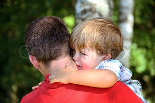 Image of 'consoling, child, parent'