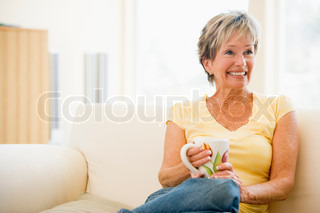 Image of 'happy, relaxed, at home'