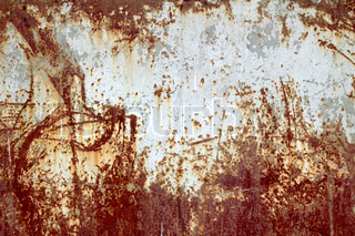 old paint rusty metal background