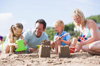 Billede af 'ferie, familie, strande'